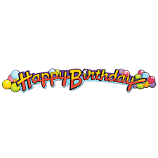 12 Units Of Happy Birthday Streamer Streamers Confetti