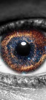 1125x2436 Galaxy Inside Eye Iphone XS ...