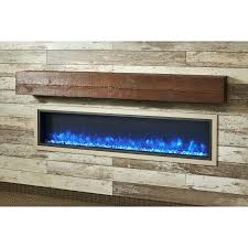 electric linear fireplace dining room inches xlf at furniture images belmont curved