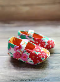 Baby Booties Sewing Pattern Custom Mary Jane Baby Shoes Pattern The Cottage Mama