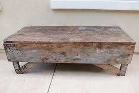 Antique Plank Farmhouse Coffee Table/Bench Nice Design