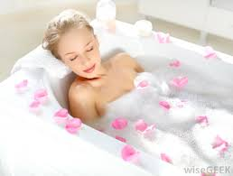 aromatherapy oil dispensers candles and other relaxation accessories can help bathers unwind