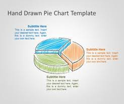 How To Do A Pie Chart In Powerpoint Free Hand Drawn Pie Chart Template For Powerpoint Free