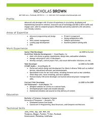 Awesome Collection of Sample Front End Developer Resume Also Example