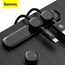 <b>Baseus Magnetic</b> Cable Organizer Cable <b>Protector</b> Holder with Clip ...