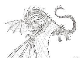 Mandala Kleurplaten Draken