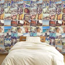 personalized montage room wallpaper