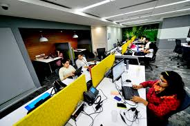 microsoft office company. Women Employees Working In A Office Of Microsoft Gurgaon, India. Company