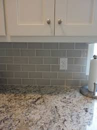 Backsplashes For Kitchens With Granite Countertops Best Grey Subway Tile Ornamental Giallo Light Granite McBroom