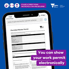 Apply for border entry into victoria. Vicgovdhhs On Twitter If You Have A Permitted Worker Permit Or A Childcare Permit You Can Keep A Digital Copy And Display It On Your Phone More On The Permitted Worker Permit