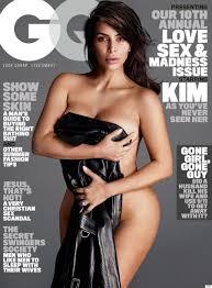 Kim Kardashian Poses Nude On The Cover Of GQ