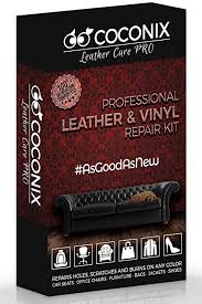 amazon coconix leather and vinyl repair kit rer of your couch sofa car seat and your jacket super easy instructions to match any color
