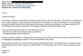 Thank You Letters Firmsconsulting L Case Interviews Advanced