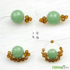 during the above processes for beaded ring make sure you have pull all wire tightly