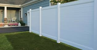 Vinyl fence styles Privacy Brooklinesmooth Ranch Life Plastics Chicago Vinyl Fences Chicago Vinyl Fencing Chicago Vinyl Fence