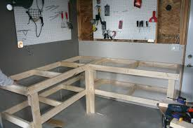 Garage Workbench Plans And Patterns Impressive Built Dad Tough House Pinterest Workbench Plans Workbench