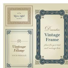 decorative vintage wedding frame vector wedding card background Wedding Card Frame Vector decorative vintage wedding frame vector wedding card border vector