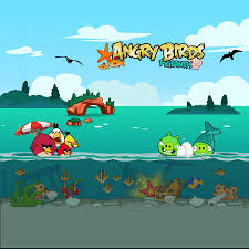 Angry Birds Seasons iPad Background by sal9 on deviantART | Angry birds  seasons, Ipad background, Angry birds