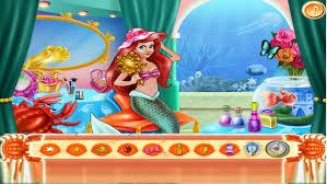 barbie makeup mermaid sea to find things doll beauty games free kids screenshot
