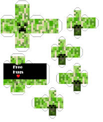 Minecraft Pictures To Print Minecraft Creeper Foldable Print Out Tons Of Other Foldable Print
