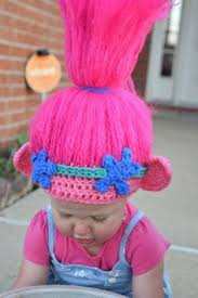 Crochet Troll Hat Pattern