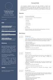 receptionist resume samples hotel receptionist resume sample