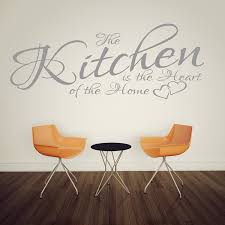 the kitchen is the heart of the home best picture next wall art stickers