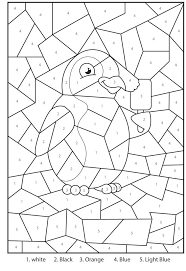 Ask the child to pick a number next and check for the corresponding color on the sheet. Free Printable Color By Number Coloring Pages Best Coloring Pages For Kids
