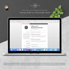 Dribbble 053 Pages Free Resume Ms Word File Format Design