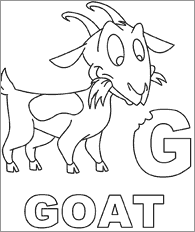 Small Picture Goat Coloring Page babygoatfarm Goatie Goats and their chicks