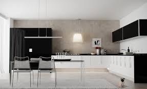 Black And White Modern Kitchen Black And White Kitchen Theme Ideas