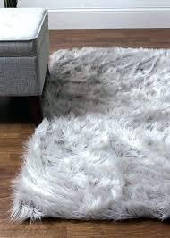 white faux fur rug fake animal rug fake animal rug 3 x 5 white faux fur white faux fur rug