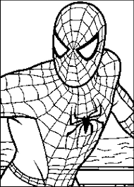 coloring page spiderman superheroes 31 printable coloring pages