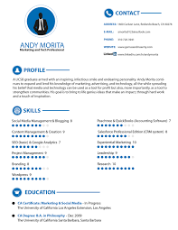 Modern Marketing Resume Elegant Modern Marketing Resume Design For Genius Insanity By