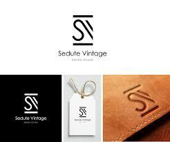 Interior Design Studio Logo Serious Modern Interior Design Logo Design For Sedute