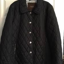 50% off Coach Jackets & Blazers - COACH - ladies black quilted ... & COACH - ladies black quilted coat - Adamdwight.com
