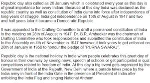 essay writing on republic day in english republic day paragraph long and short paragraph on 26