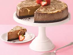 chocolate marble cheesecake.  Marble Chocolate Marble Cheesecake And