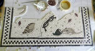 Pre Made Mosaic Designs Making A Mosaic On Mesh Step By Step