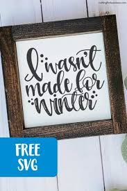 My goal is to always keep hello svg free for personal and commercial use, but running a popular free download site can get costly. Where To Find Winter Themed Free Svgs