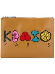 Designer Clutch Bag Outlet Kenzo Cheap Shop Price Kenzo Tanami Clutch Women Bags