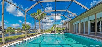 Pool Cage Designs Florida Pool Enclosures Rescreening Railings Fabri Tech
