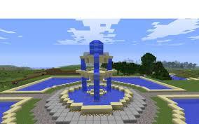 Minecraft Water Fountain Designs Minecraft Fountain Minecraft Project