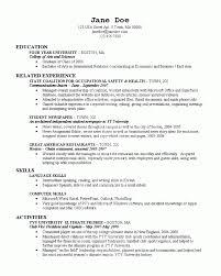 Resume For College College Resume Resume Cv Design Pinterest