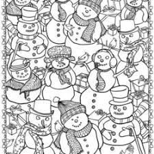 Here are a bunch of free printable winter coloring pages for kids to color! Christmas Winter Coloring Pages For Kids To Color