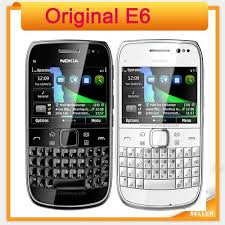nokia keyboard phone. original nokia e6 3g touch screen mobile phone with qwerty russian keyboard in stock wifi gps bluetooth refurbished phones
