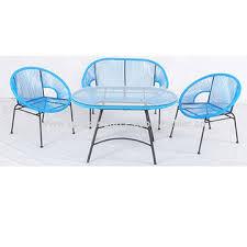 round rope rattan dining chair set china round rope rattan dining chair set