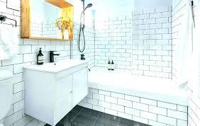 beveled subway tile subway tile for bathroom shower grouting bathroom tiles subway tile black grout medium images of bathroom subway tile white beveled