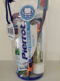 <b>Дорожный набор Pierrot</b> Complete Dental Kit (зуб.<b>щетка</b>, зубная ...