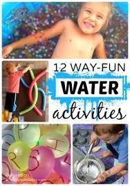 12 way fun water activities for kids this summer b inspired mama